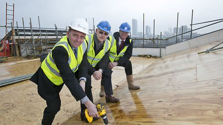 Sir Robin Wales celebrating Newham's private sector homes