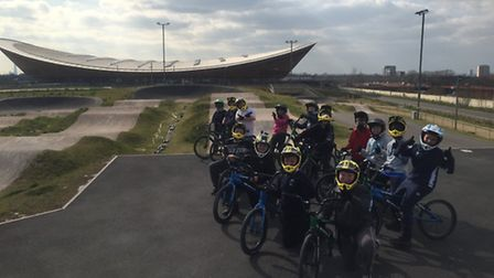 Broadford school were treated to a fantastic day out at the London Olympic Velodrome