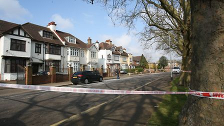 Shooting in Wanstead on Draycot Road