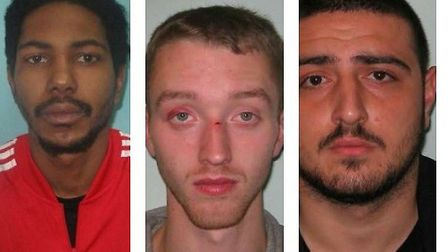 Three men from East Ham have been jailed for aggravated burglary