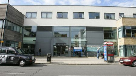 The Vicarage Lane walk-in centre is set to close.