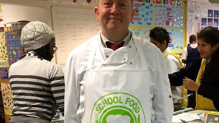Forest Gate Community School will join a national food programme aimed at encouraging children to ea