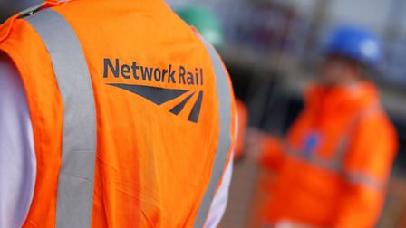 Network Rail workers are set to go on strike over bank holiday Monday. Picture: Jonathan Brady/PA Wi