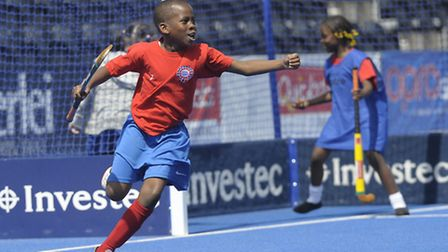 Pupils from Rosetta Primary School took part in the Schools Festival at Lee Valley Hockey and Tennis