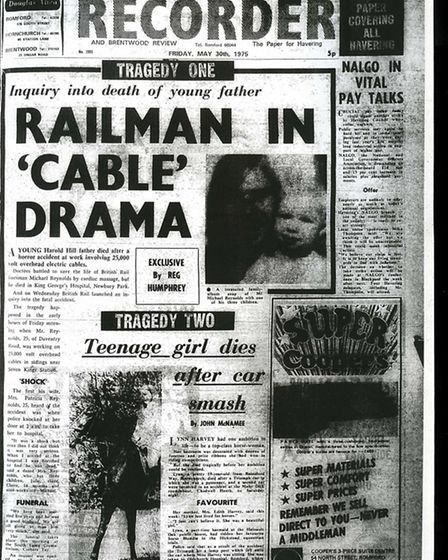 Romford and Hornchurch Recorder, May 30 1975