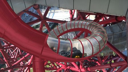 An artist's impression of how the slide will look