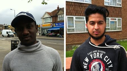 Chimezie Opara (Left) and Tanvir Ahmed (Right)