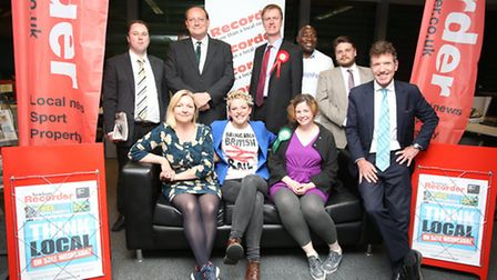 West Ham and East Ham candidates at rhe Recorder's social media hustings last month