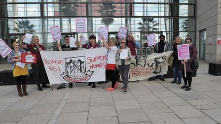 Boleyn Development 100 are calling for total social housing at the West Ham ground
