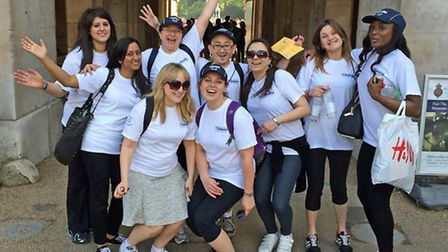 Legal professionals from Blavo & Co Solicitors at last year's Legal Walk