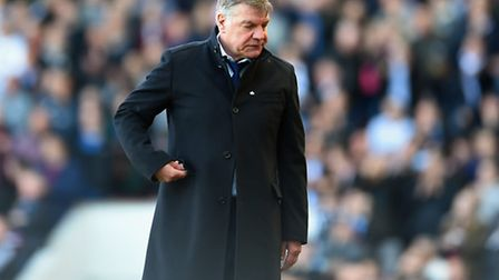 Sam Allardyce the West Ham manager(Photo by Tom Dulat/Getty Images)