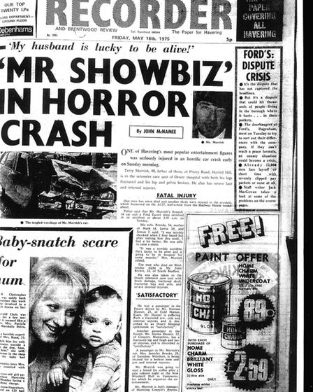 Romford and Hornchurch Recorder, May 16 1975