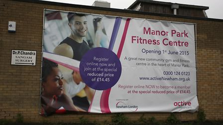 Manor Park Fitness centre which is set to open in a couple of weeks