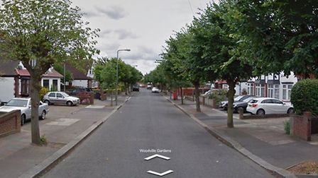 Woodville Gardens, Barkingside. Picture: Google Street View