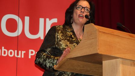 Labour's Lyn Brown during the general election campaign period