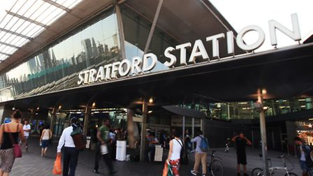 The pickpocketer was caught at Stratford station