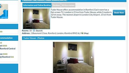 Rooms could also be booked on letsbookhotel.com, but the hotel has now been removed from the website