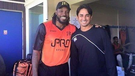 Newham College travelled to watch Ravi Bopara;s All-Star match