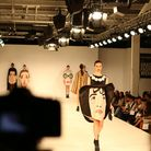 Yasmeen Uddin from UEL presents her collection at Graduate Fashion Week