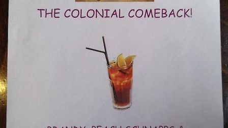 Oxford Union poster for the Reparations Debate Cocktail
