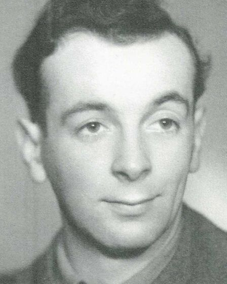 Len Brace, from Clayhall, photographed when he was serving during the Second World War in the 11th A
