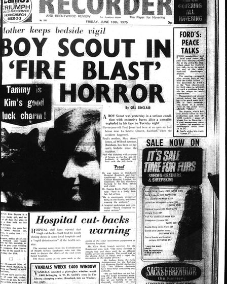 Romford and Hornchurch Recorder, June 13 1975