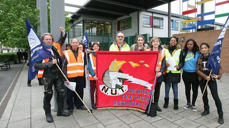 NUT members at Rokeby School to oppose the change of employer that would result from the school obta