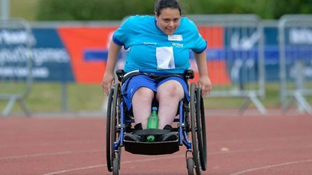 Newham youngsters shone at the para athletics (pic: Ying Pan Wu/LYG)
