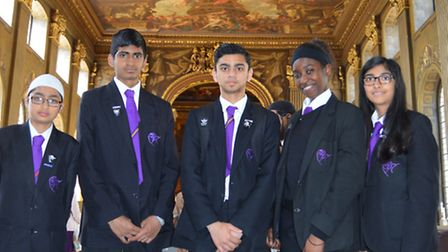 Computing students from Stratford School Academy visited Greenwich University and took part in a num