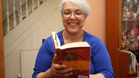 Antonia Barker, a member of the Hardbackers book club that meets at Redbridge Central Library