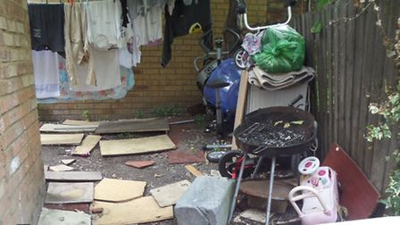 26 people found living in East Ham house