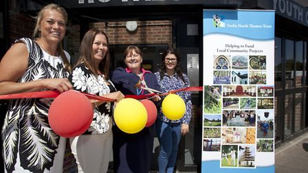 Members celebrate as Royals Youth Club reopens after refurbishment