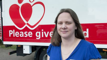 NHS Blood and Transplant team leader, senior sister Sheryl Sanderson, has appealed for new blood don