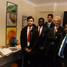 The children of Cranbrook School in Ilford are having an exhibition of their work. Other school stud