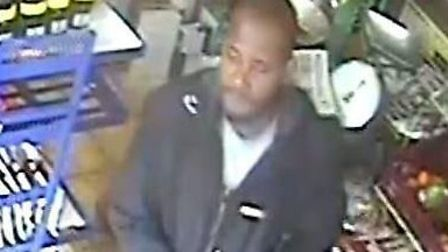 Officers want to speak to this man in connection to a robbery in Forest Gate