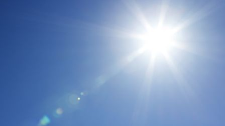 Temperatures are predicted to reach about 30 degrees tomorrow.