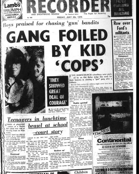 Romford and Hornchurch Recorder, July 4 1975