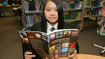 Savina Tang age14 from Kingsford Community School, Beckton, has won a photojournalism competition.