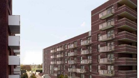 Image of proposed development at the Barrier Park East development, also known as Waterside Park, in
