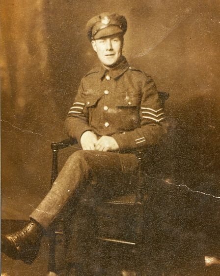 Paul Oliver's First World War soldier father Harry