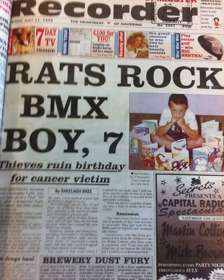 Romford Recorder, July 21 1995