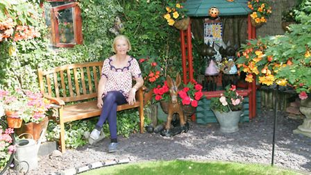 Maureen Keating is opening up her garden to the public for a day to raise money for Saint Francis Ho
