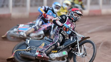 Lakeside's Andreas Jonsson (red) (pic: Rob Newell/TGSPHOTO)
