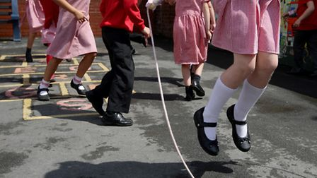 Primary schools are expanding to cope with the high birth rate in Newham (picture: Dave Thompson/PA)