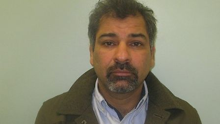 """Yousaf Haider, 44, from Beckton has been found guilty for his part in £5.6million """"crash for cash"""" s"""