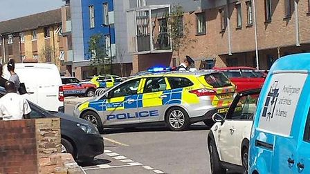 Serious Incident Rainham Picture: @beckileigh_x