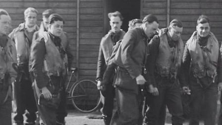 The pilots of 64 Squadron at RAF Hornchurch. Picture: Richard Smith