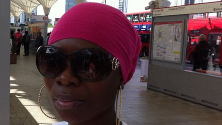 Silvertown resident Sakina Adam, 29, said she was sympathetic with the tube workers on strike