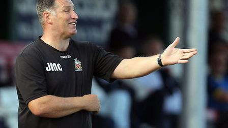 Hornchurch manager Jimmy McFarlane will come up against Cray Wanderers on the opening day of the Rym