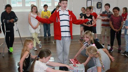Youngsters will be performing the Broadway hit, Seussical, based on the books and characters of Dr S